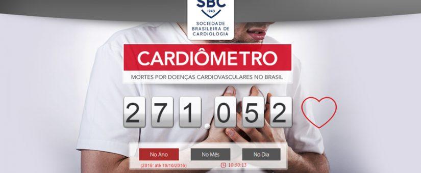 Site registra mortes por doenças cardiovasculares em tempo real