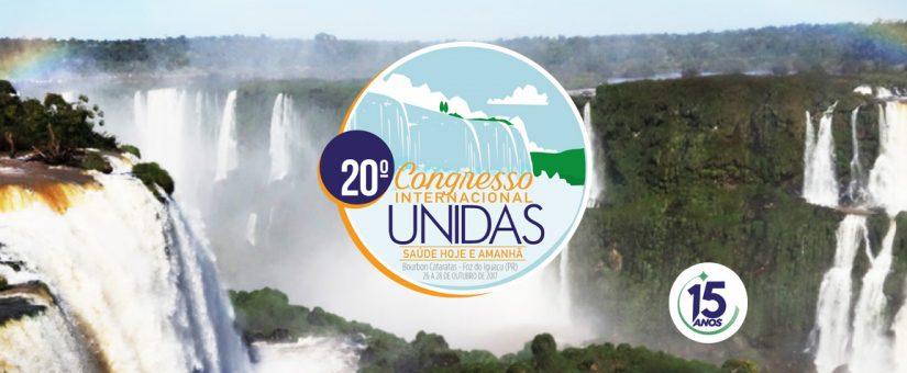 Com palestrantes internacionais, 20º Congresso Unidas debate futuro da saúde