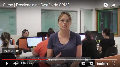 Curso OPME | Presencial e EAD