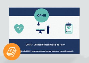 [E-book] OPME – Conhecimentos iniciais do setor