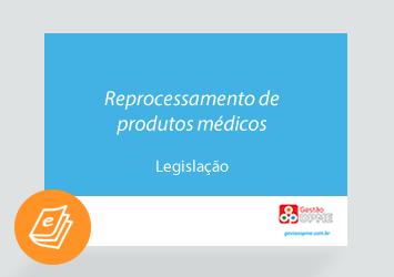 [E-book] Reprocessamento de produtos médicos