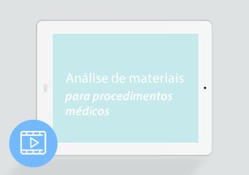 [Webinar] Análise de materiais para procedimentos médicos: do preço à utilização