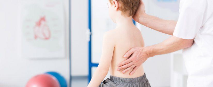 Dor de coluna em crianças